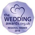 wedding awards logo regional winner 2018