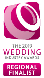 wedding industry 2019 award regional finalist
