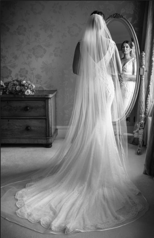 The bride at Delamere Manor